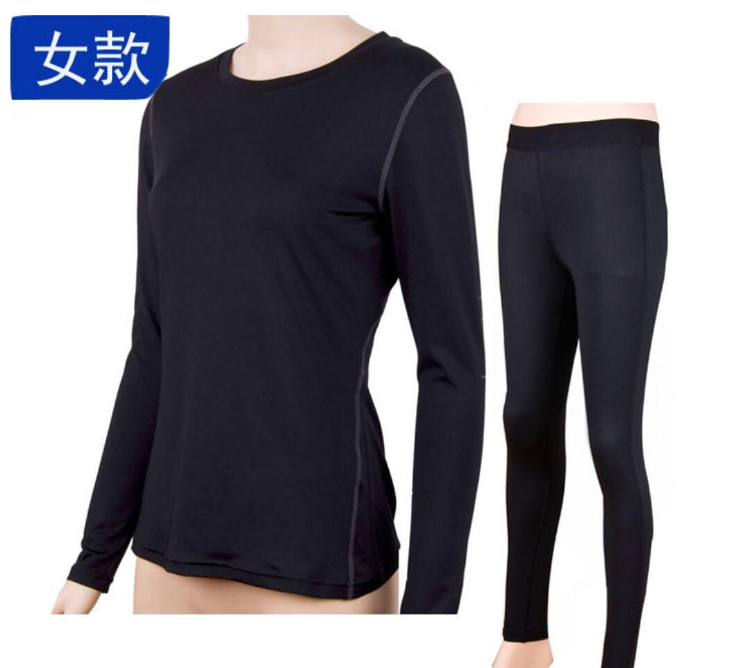 女款运动速干T恤长袖款+长裤
